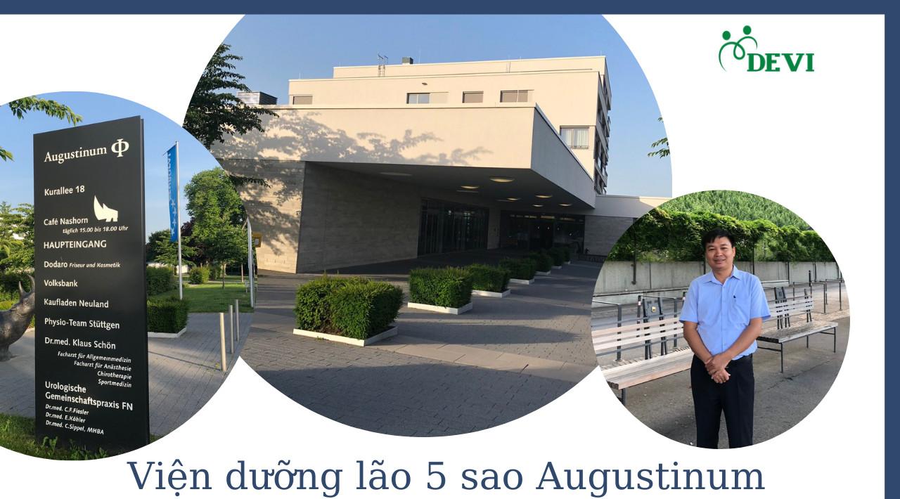 Lãnh đạo DEVI thăm Viện dưỡng lão tiêu chuẩn 5 sao Augustinum