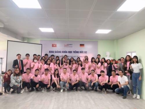 Khai Giảng khóa học tiếng Đức B2 tại trụ sở Hà Nội
