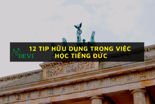 12 tip hữu dụng trong việc học tiếng Đức