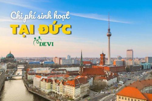 Mức sinh hoạt phí tại Đức