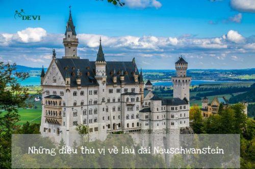 Những điều thú vị về lâu đài Neuschwanstein