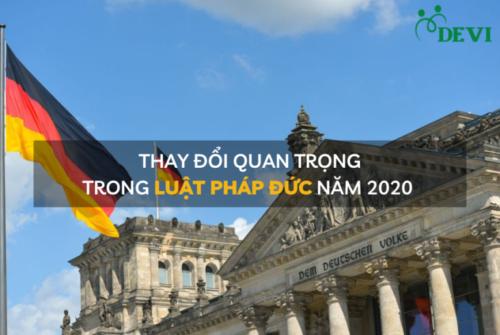 Nước Đức và 10 thay đổi quan trọng trong năm 2020